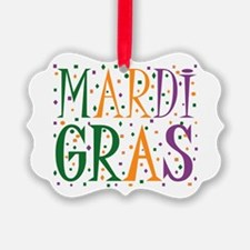 MARDI GRAS Picture Ornament