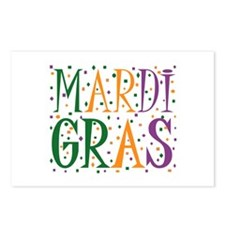 MARDI GRAS Postcards (Package of 8)