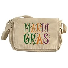 MARDI GRAS Messenger Bag