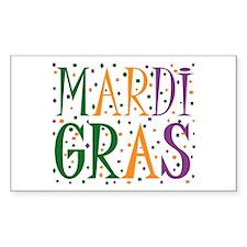 MARDI GRAS Bumper Stickers
