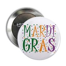 "MARDI GRAS 2.25"" Button (100 pack)"