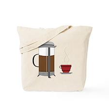 Coffee Press Tote Bag
