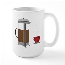 Coffee Press Mug