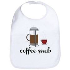 Coffee Snob Bib