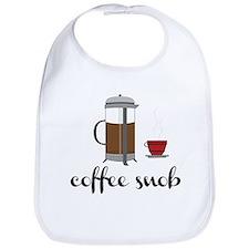 Coffee Snob Bib