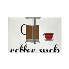 Coffee Snob Rectangle Magnet
