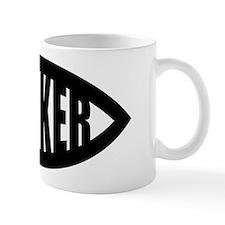 Sucker Fish Symbol Mug