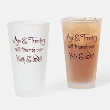 Age Treachery Drinking Glass