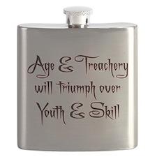 Age Treachery Flask