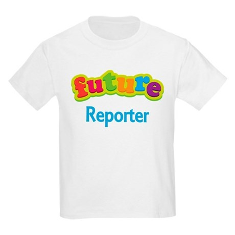 Future Reporter Kids Light T-Shirt