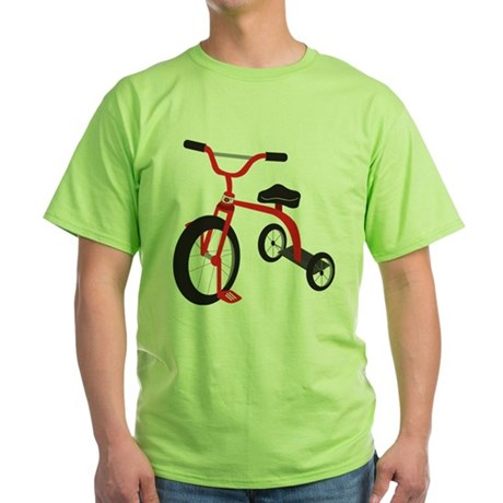 Tricycle Green T-Shirt