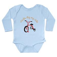 My Ride Long Sleeve Infant Bodysuit