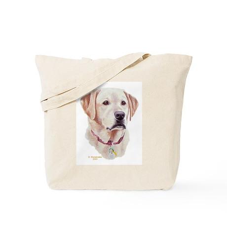 Sophie, Yellow Labrador Tote Bag