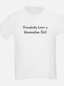 Warrenton Girl Kids T-Shirt