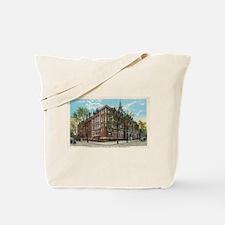 Vintage ST X Postcard Tote Bag
