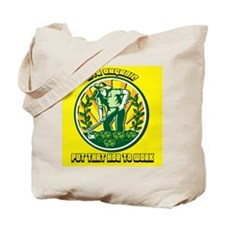 Live Organic - Put that Hoe to Work Tote Bag