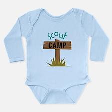 Scout Camp Long Sleeve Infant Bodysuit