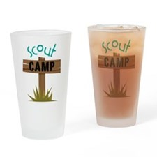 Scout Camp Drinking Glass