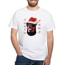 Santa Paws Rottweiler Shirt