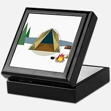 Camping Keepsake Box