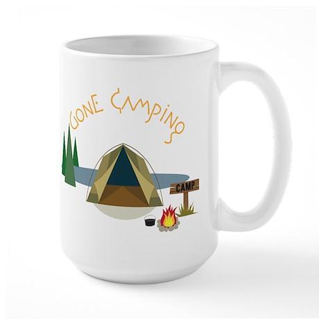 Gone Camping Large Mug