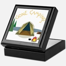 Gone Camping Keepsake Box