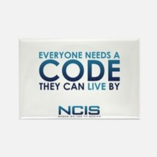 NCIS Code Rectangle Magnet