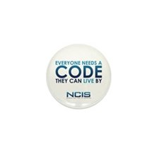 NCIS Code Mini Button (10 pack)