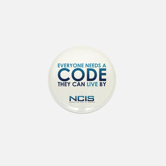 NCIS Code Mini Button (100 pack)