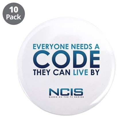 "NCIS Code 3.5"" Button (10 pack)"