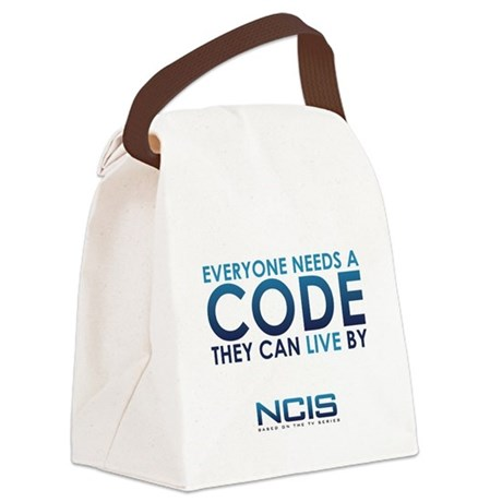 NCIS Code Canvas Lunch Bag