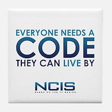 NCIS Code Tile Coaster