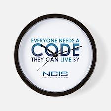 NCIS Code Wall Clock