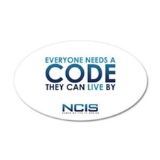 NCIS Code Wall Decal