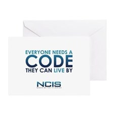 NCIS Code Greeting Card