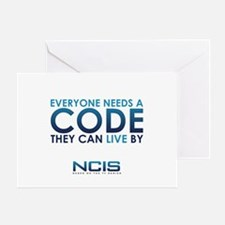 NCIS Code Greeting Card