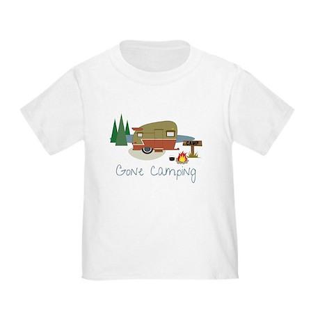 Gone Camping Toddler T-Shirt