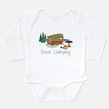 Gone Camping Long Sleeve Infant Bodysuit