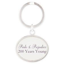 200th Anniversary Oval Keychain