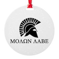 Molon Labe Warrior Ornament