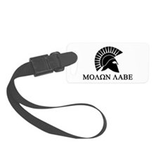 Molon Labe Warrior Luggage Tag