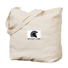 Molon Labe Warrior Tote Bag