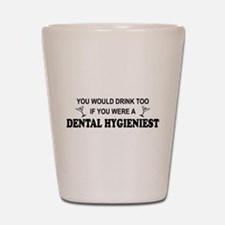 Cute Dental hygiene Shot Glass