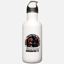 Protect Flag Airsoft Water Bottle