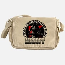 Protect Flag Airsoft Messenger Bag