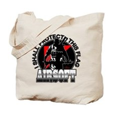Protect Flag Airsoft Tote Bag