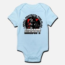 Protect Flag Airsoft Infant Bodysuit