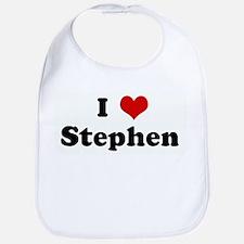 I Love Stephen  Bib