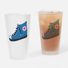 Athletic Shoe Drinking Glass