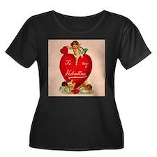 VICTANGELVALENTINE7.jpg Plus Size T-Shirt